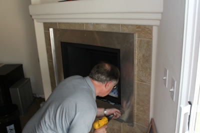 custom fireplace surround