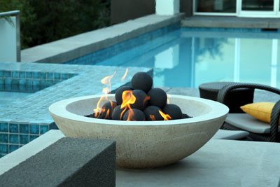 Fireglass For Outdoor Propane Fireplace And Patio Fire Pits